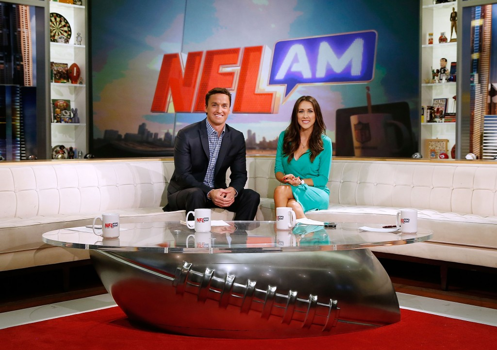 New NFL AM co-hosts Erin Lewis and Erin Coscarelli