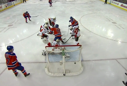Oilers Goal Overturned After Phantom Goalie Interference Nhl