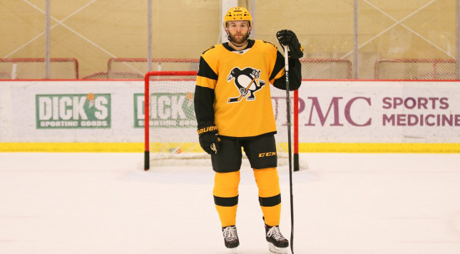 54a997defc0 Penguins debut awesome gold and yellow stadium series jerseys - Puck Drunk  Love