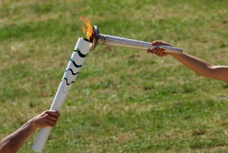 Rehearsal For The Lighting Ceremony Of The Olympic Flame
