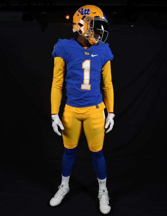 various colors 95675 3ca63 Look: Pittsburgh Panthers unveil alternate uniforms - The ...