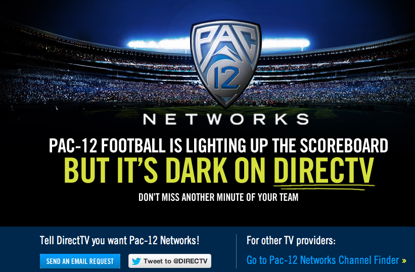 DirecTV Pac 12 Network Kerfuffle Is Wearing Thin