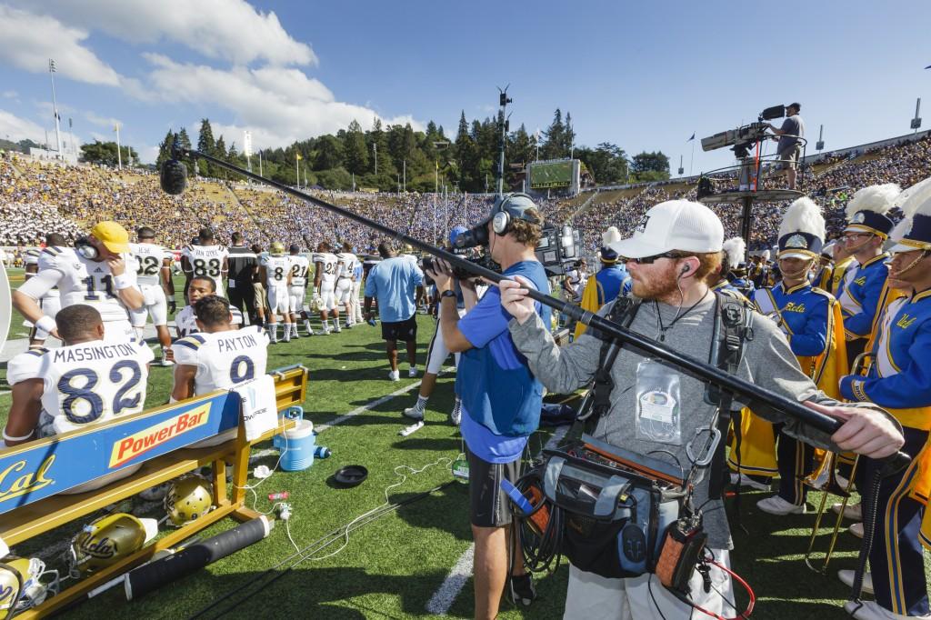 Cal Bears Football vs. UCLA, Oct 18, 2014, at Cal Memorial Stadium in Berkeley