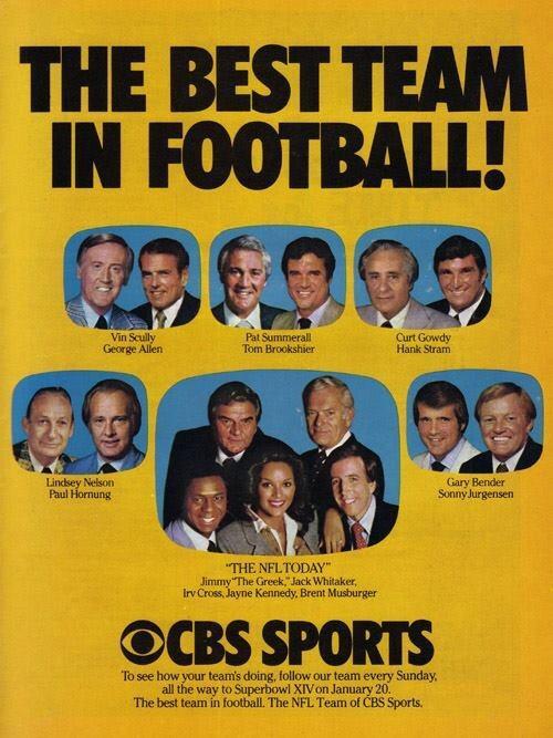 NFL on CBS 1979