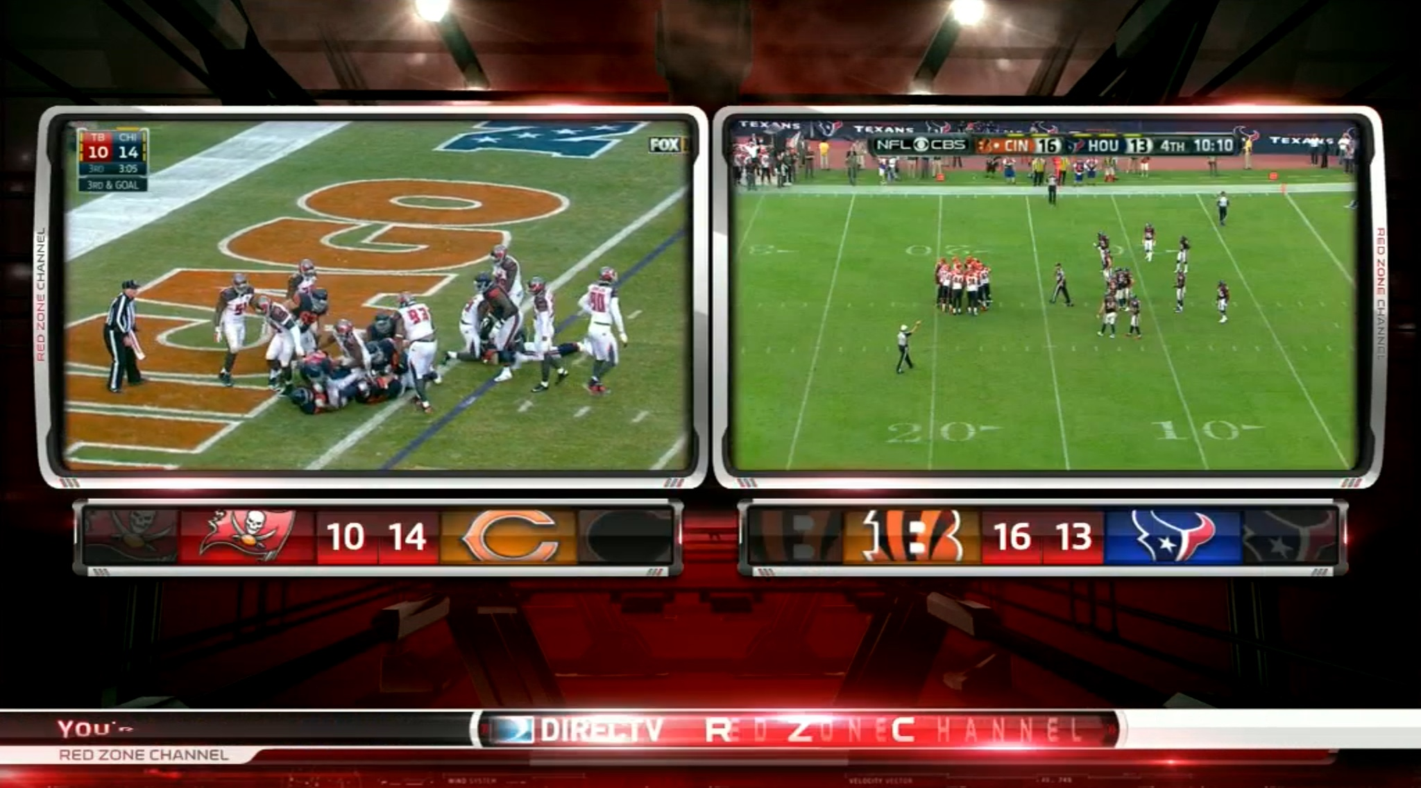 The AA Sunday Studio Spectacular: DirecTV's Red Zone Channel