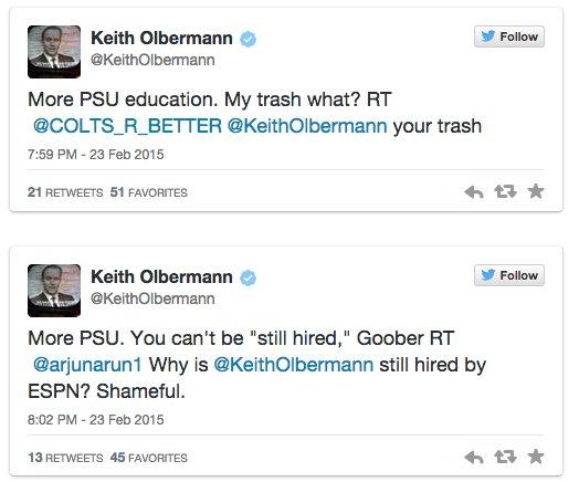 Again Olbermann II