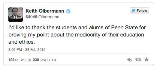 Again Olbermann III