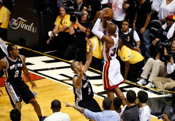 On this day in 2013, Ray Allen hit The Shot in Game 6 & produced a ...
