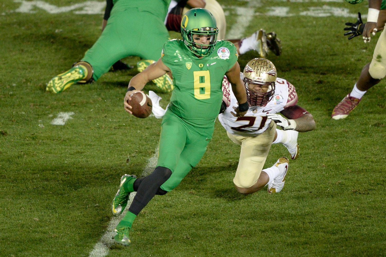 pretty nice 880eb a69b4 Oregon football uniforms hopefully won't be as eccentric in 2017