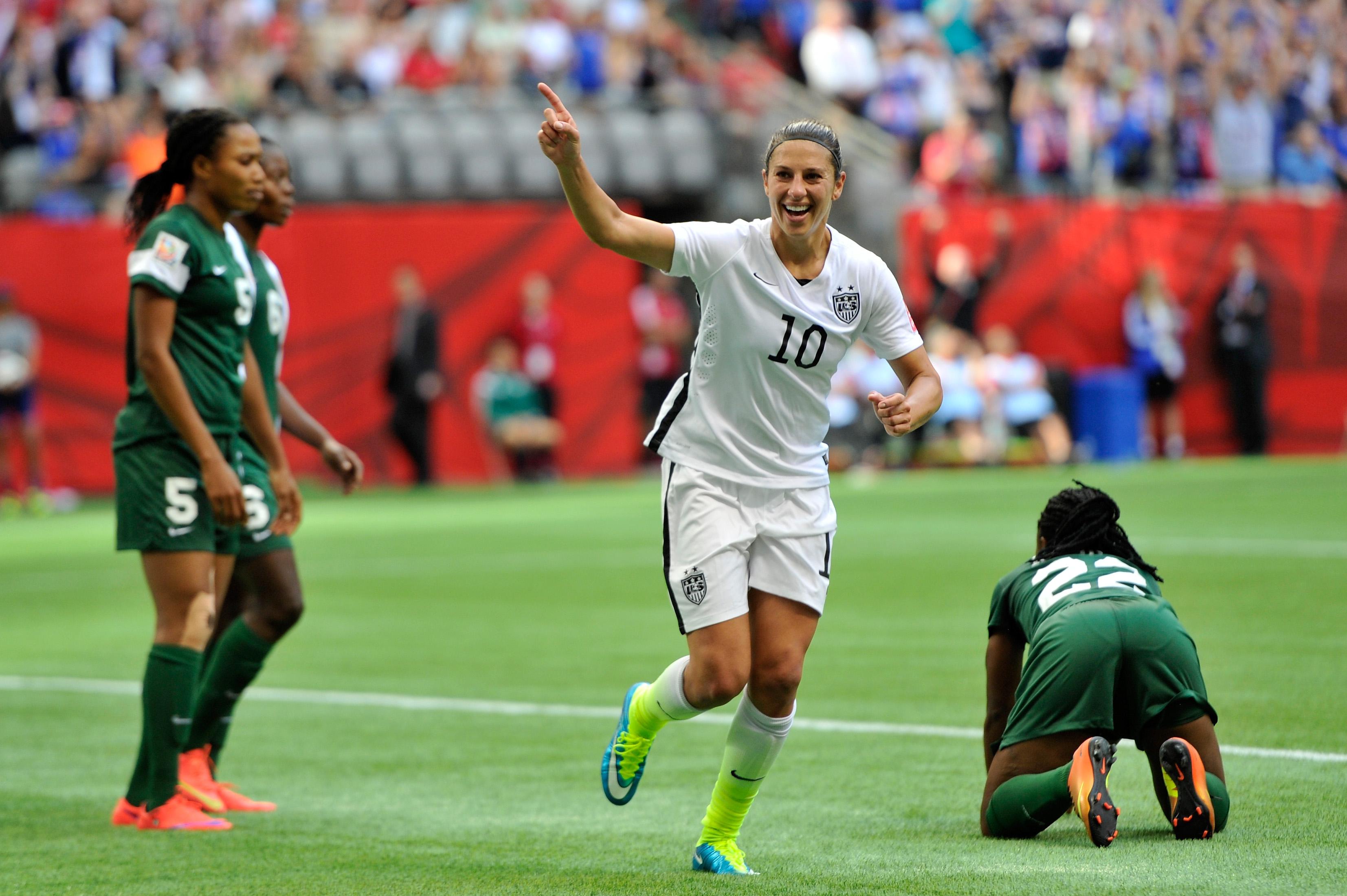 American Hero Carli Lloyd Named U S Soccer Female Player Of The Year