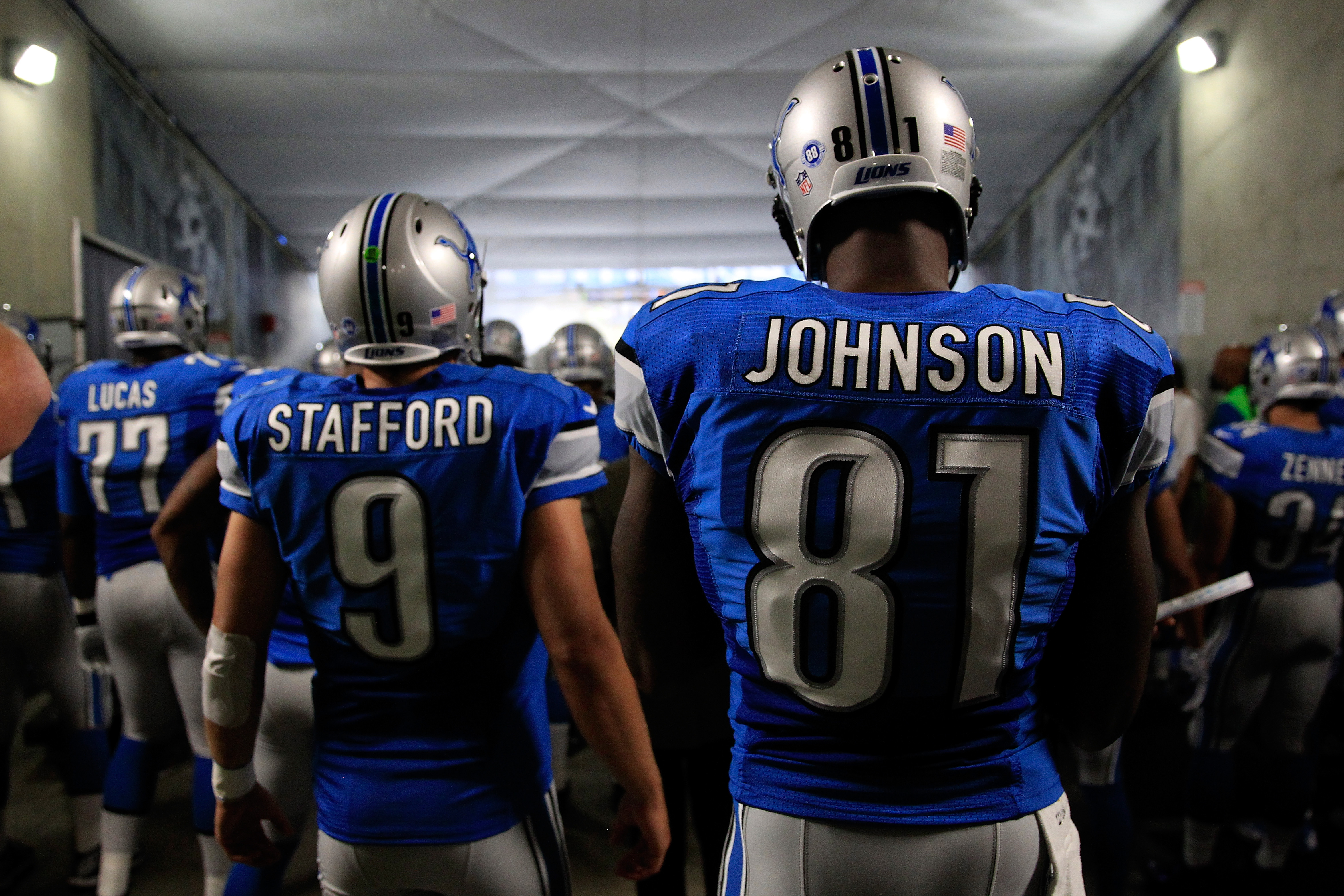 new product 6bc97 70c3e Detroit Lions adding color rush jersey in 2016, additional ...
