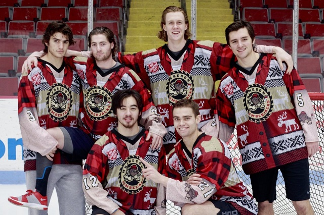 """3567d4ed516 Minor League hockey is embracing the """"ugly sweater"""" Christmas tradition"""
