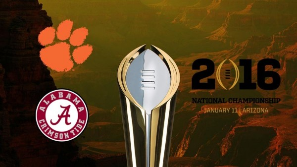 The South rises again as Bama and Clemson clash