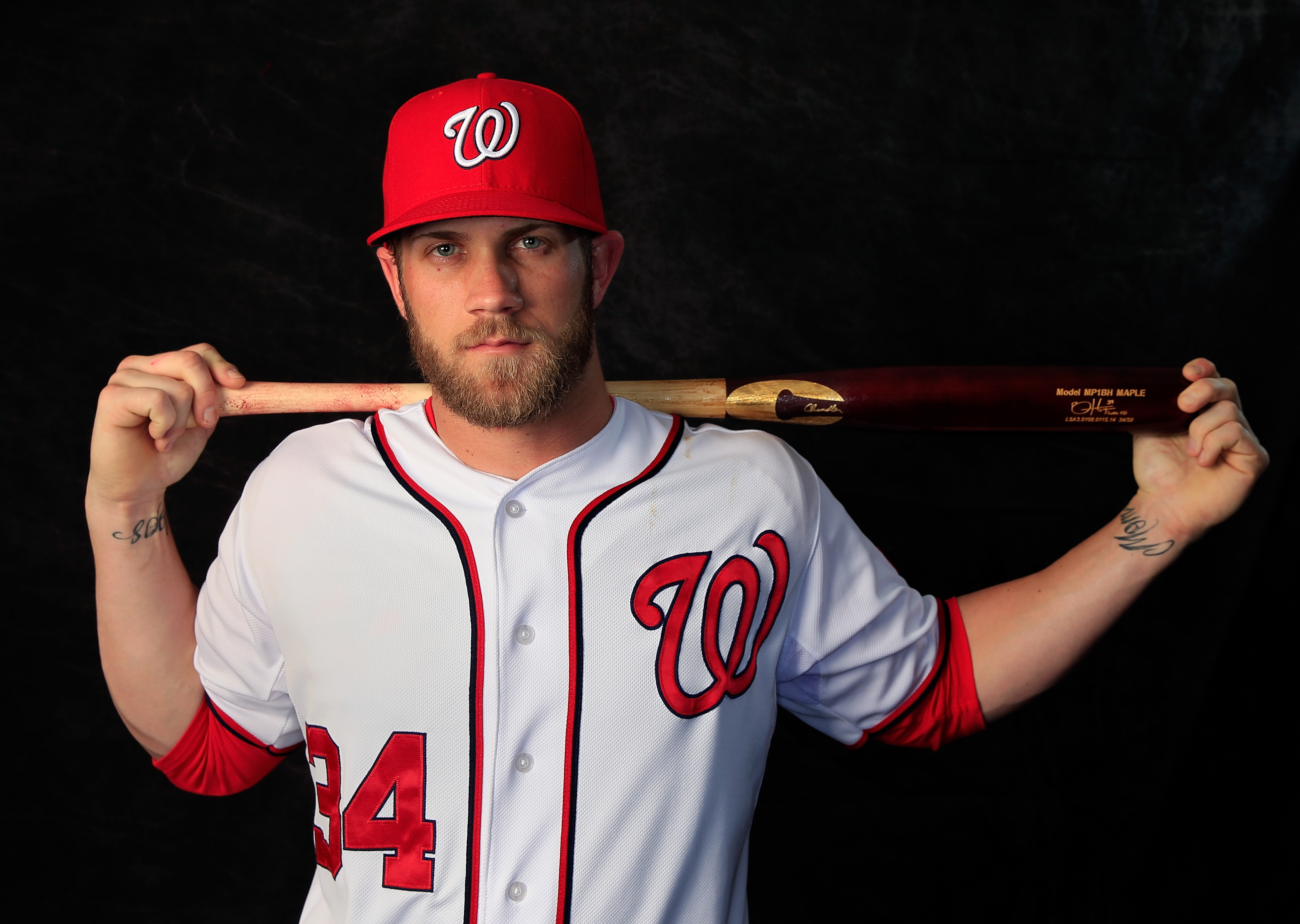 63530aace Bryce Harper signs record-breaking 10-year extension with Under Armour,  putting Nike on notice