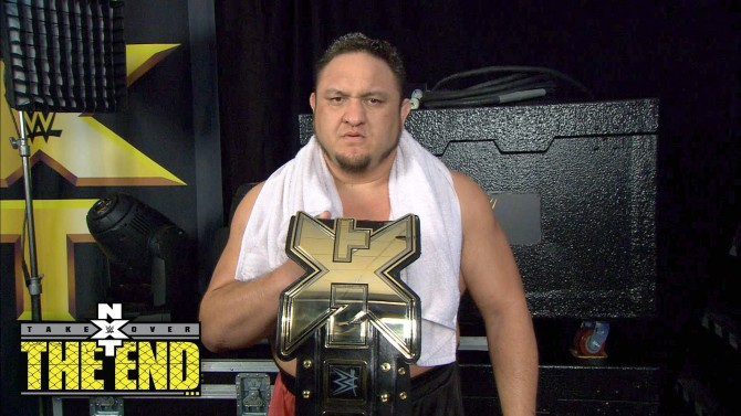 WWE NXT Champion Samoa Joe has become a force to be reckoned with