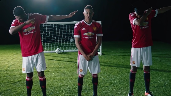 Manchester United apparently has a Dab Academy