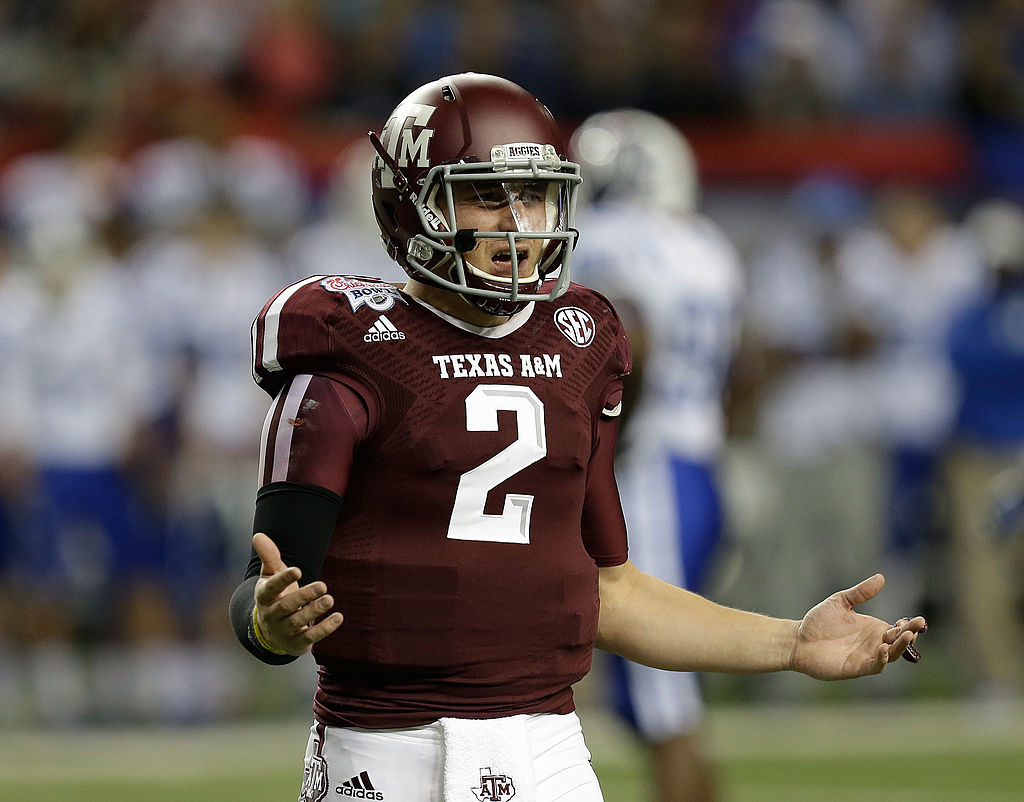 the latest 57741 9ae27 Five years ago today, Johnny Manziel and Texas A&M upset No ...