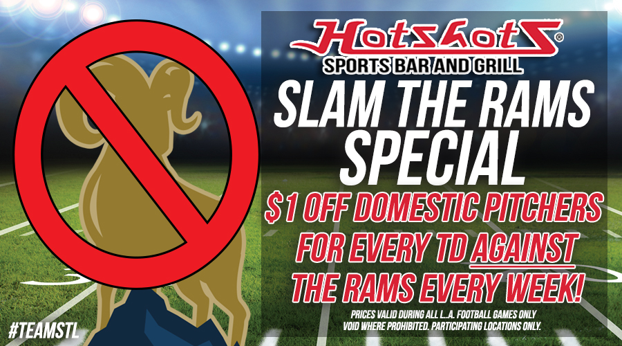 St  Louis bar chain will discount beer for every touchdown scored