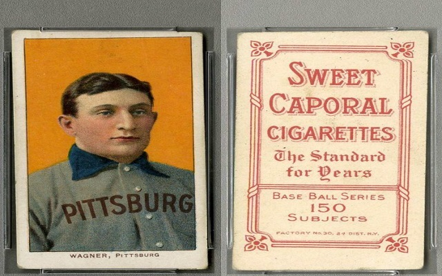 The Famous T206 Honus Wagner Baseball Card Sold For A New Record