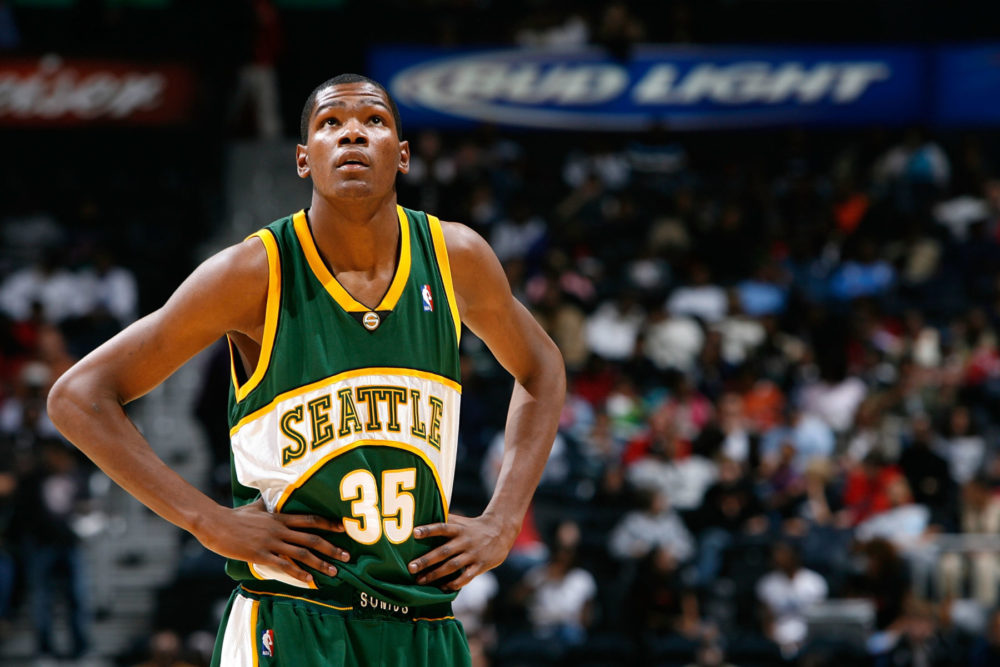 d635075b7 The NBA will reportedly return to Seattle for an exhibition game featuring  former SuperSonic Kevin Durant