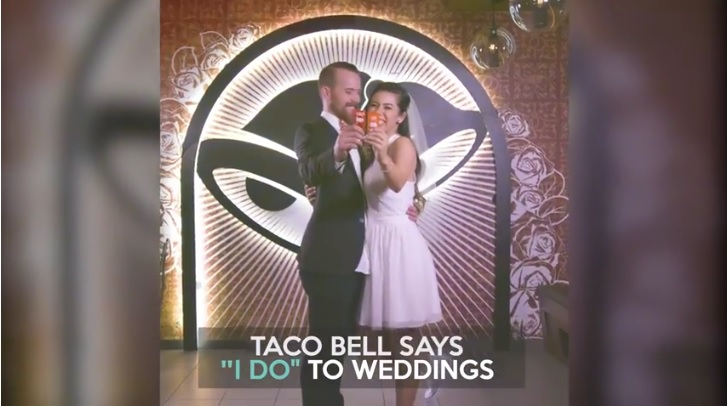 Taco Bell Wedding.You Can Soon Get Married At A Taco Bell Wedding Chapel