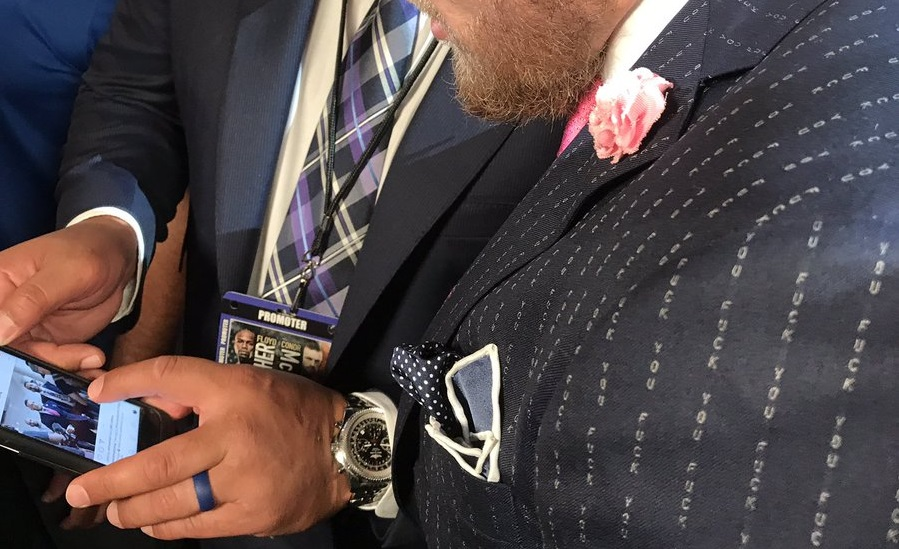 You Can Now Buy Your Own Conor Mcgregor Eff You Pinstripe Suit