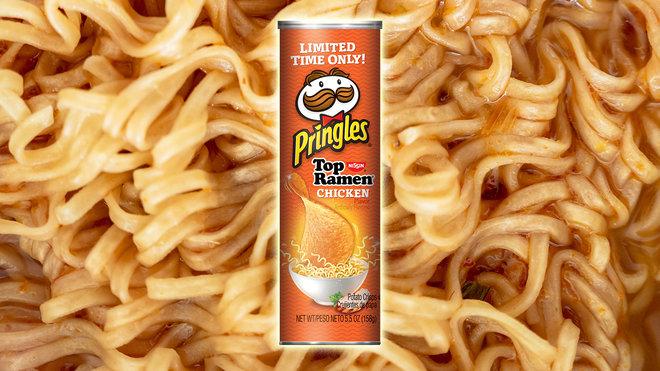 Ramen-flavored Pringles combine two cheap college staples
