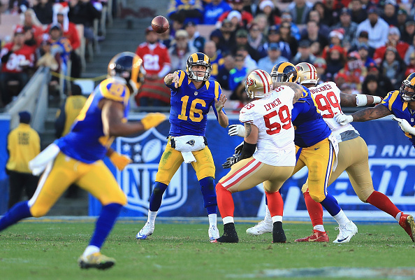competitive price e78ed 68c94 NFL rules are keeping Rams from wearing throwback uniforms ...