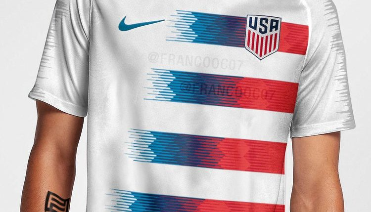 2c2da7cac Image of supposed USMNT World Cup kit for 2018 leaked