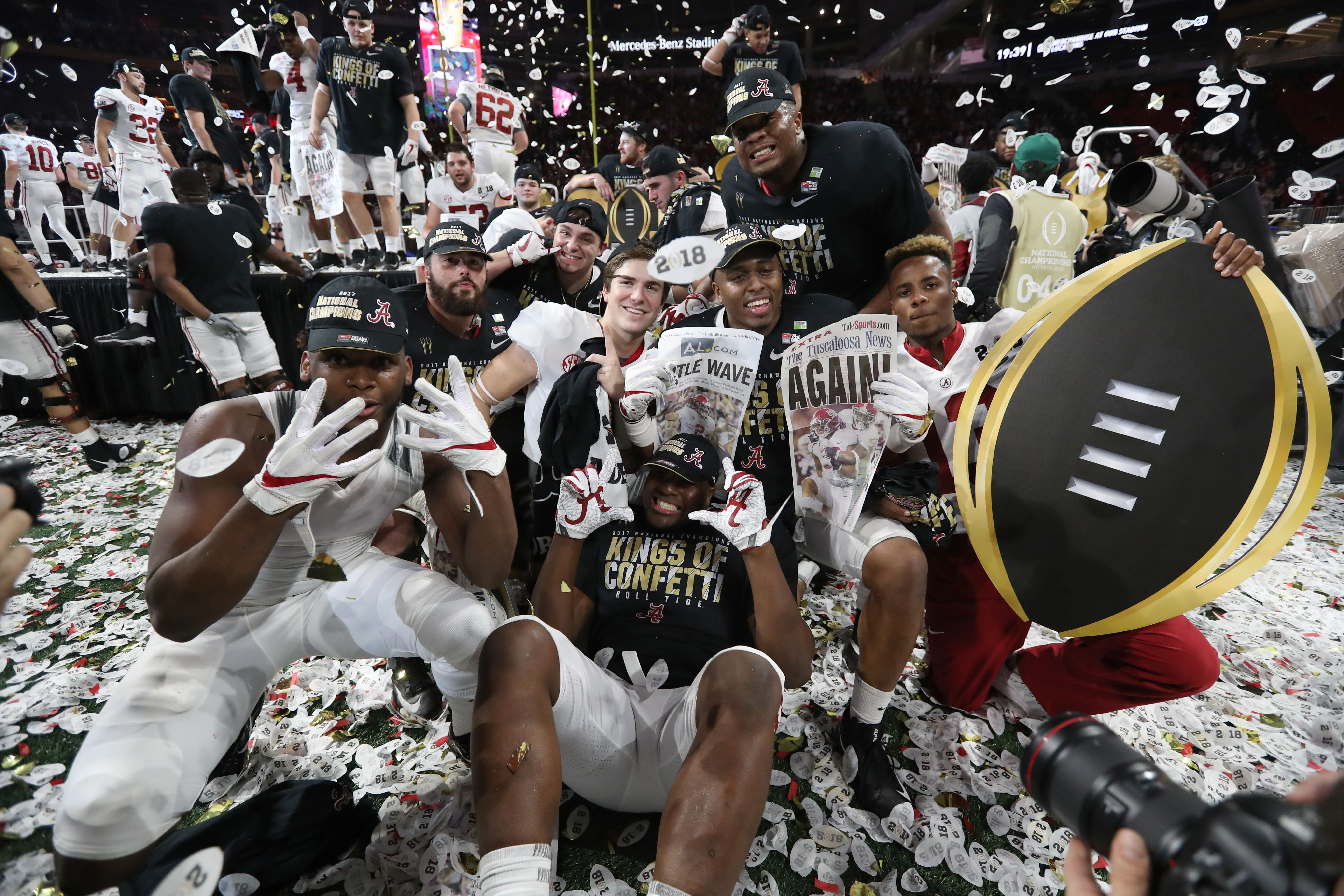 Challengers Come And Go But Alabama Remains College Football S Gold Standard