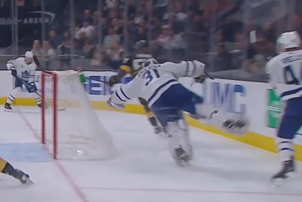Maple Leafs Frederik Andersen Becomes Second Goalie In Nhl History To Be Fined For Diving