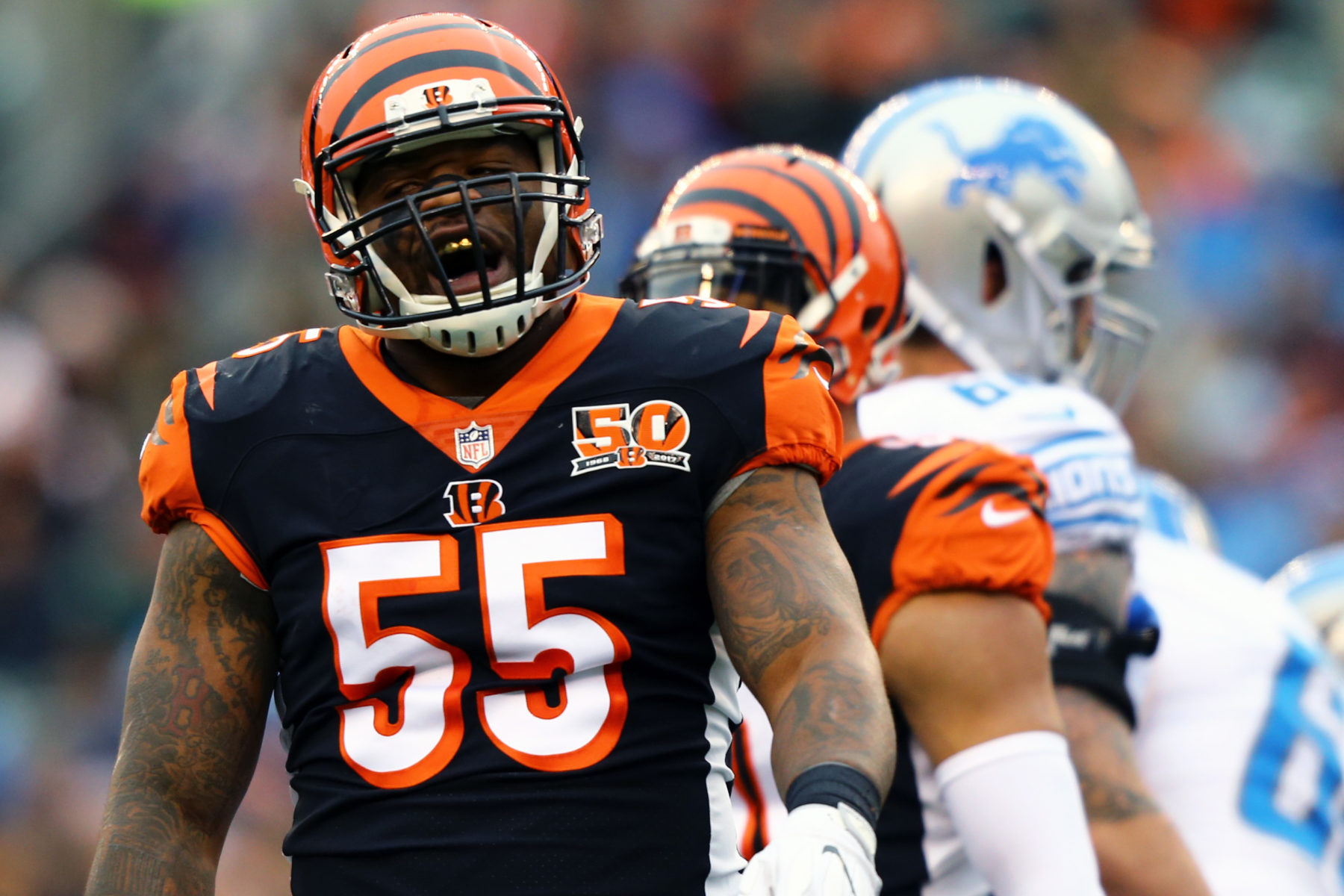the best attitude 1aff0 526af We're somehow less than shocked that Bengals LB Vontaze ...