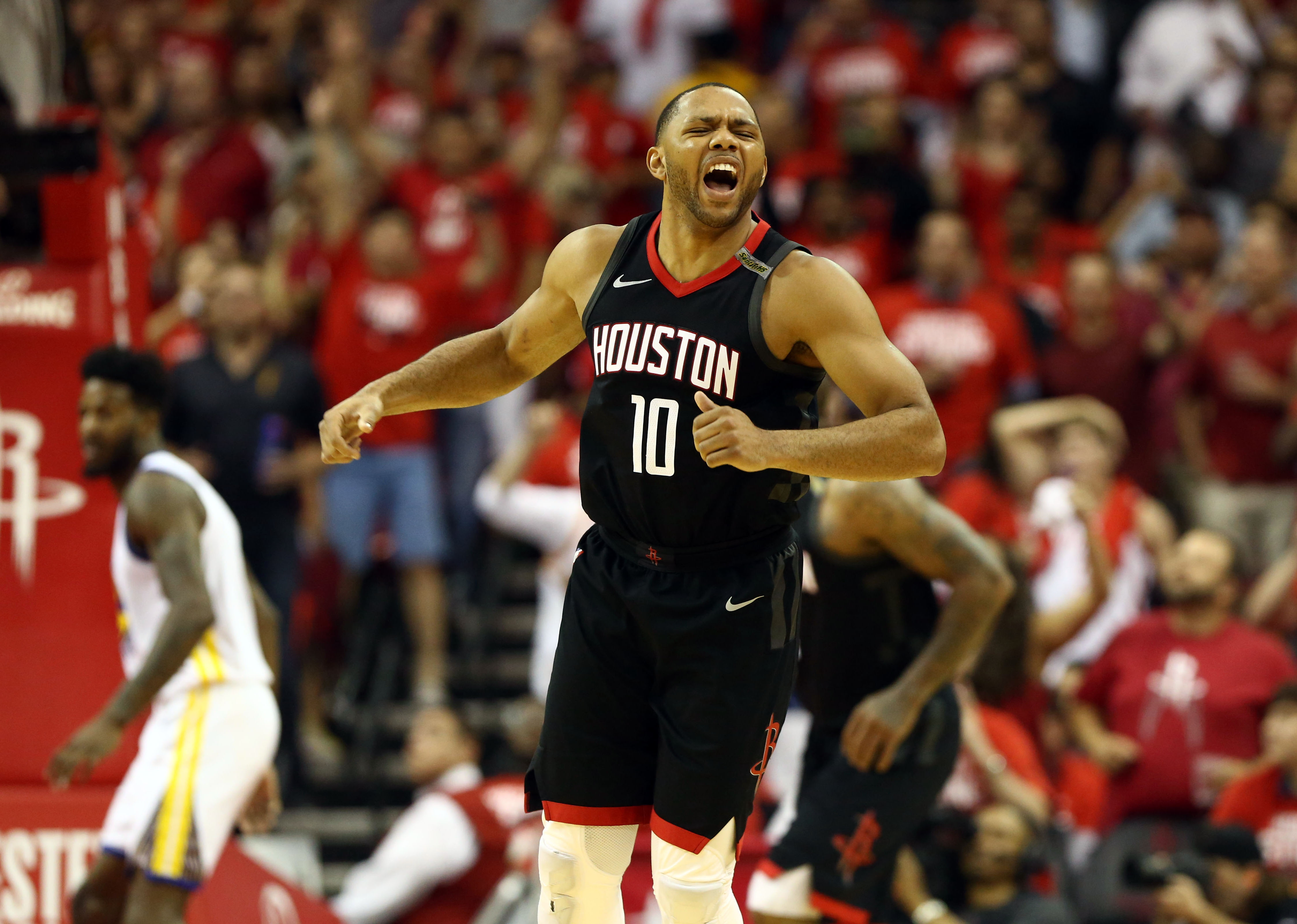 404d70e625d Rockets are 1 win away from NBA Finals  Warriors get only 4 points from  bench and 4th-quarter woes return