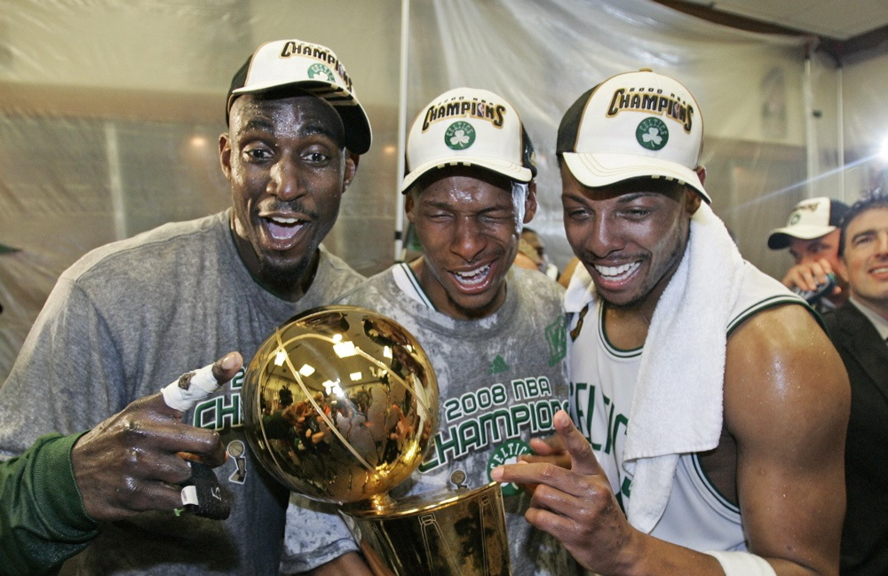 13cdf202051a The 2007-08 Boston Celtics might not have invented the superteam ...