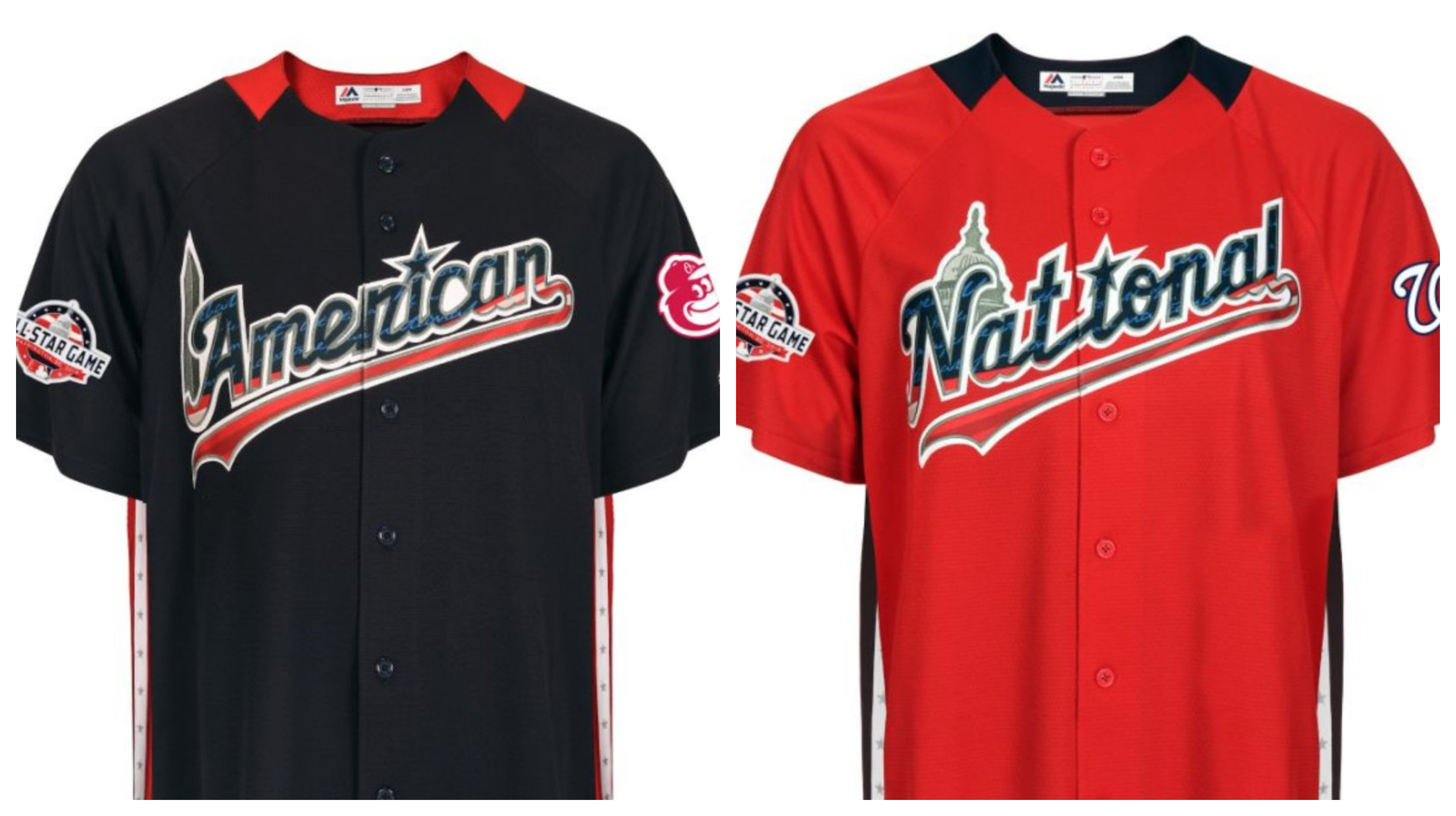 5a0860872 MLB s All-Star uniforms feature a whole lot of stars and stripes