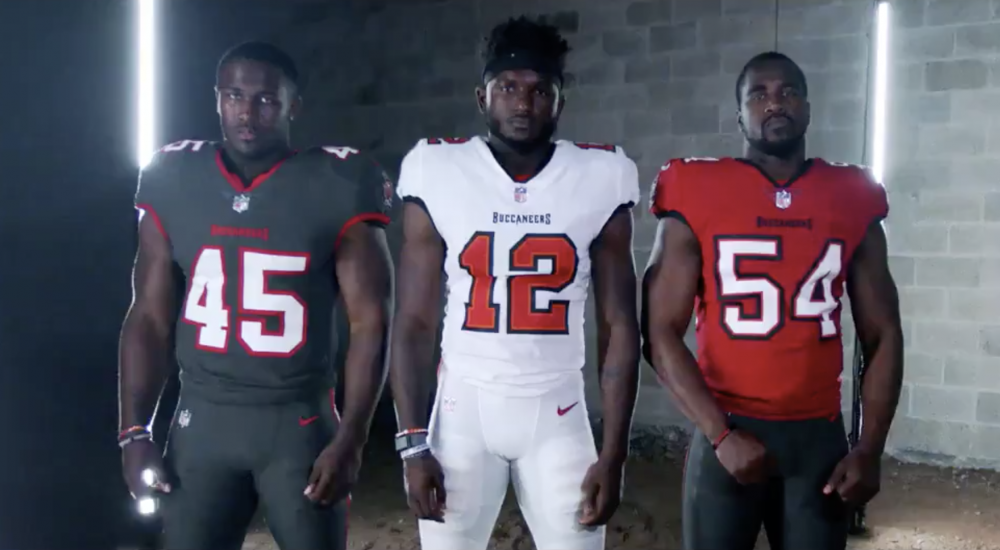 Tampa Bay Buccaneers unveil new jerseys that bring a sharp ...