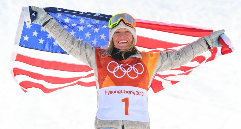 Snowboarding star Jamie Anderson talks training during ...